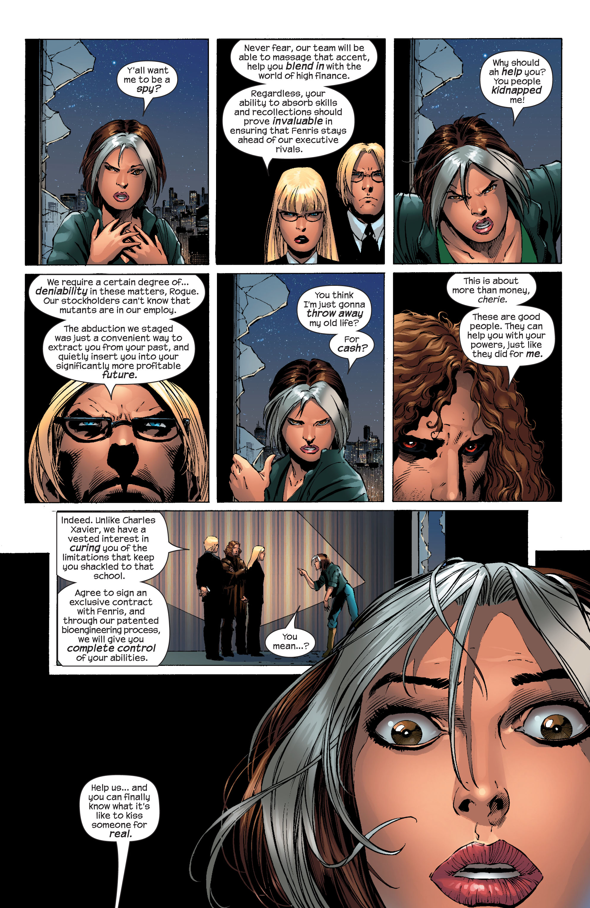 Read online Ultimate X-Men comic -  Issue #51 - 21
