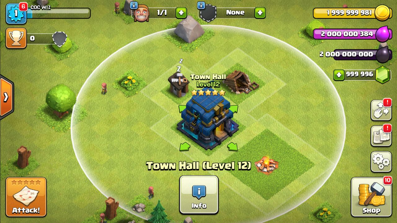 download clash of clans cheat th 12