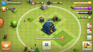 CLASH OF CLANS HACKED VERSION TH12 2