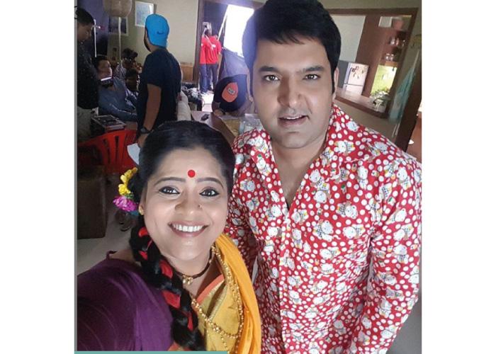 Vishakha Subhedar with Kapil Sharma