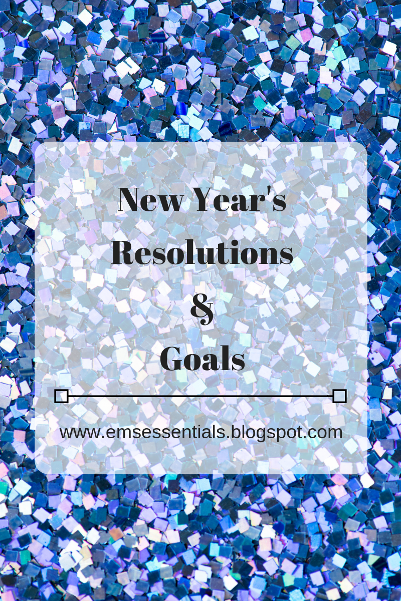 New year's resolutions 2019 and goals for 2019