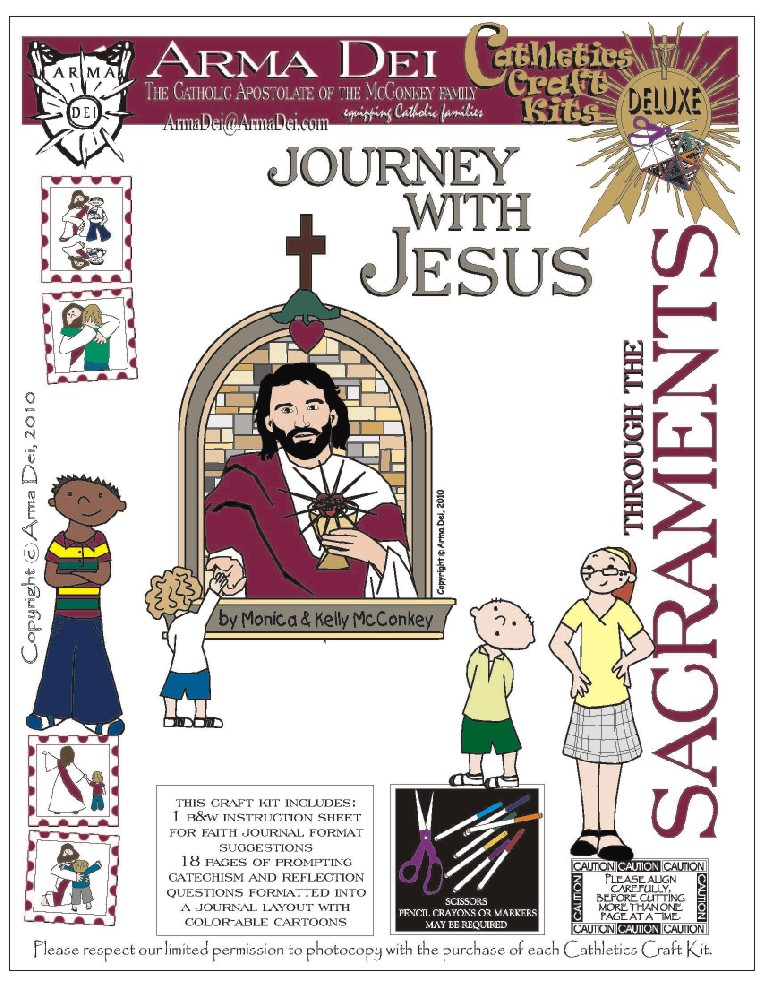 Journey with Jesus Cathletics Craft Kits - Equipping ...