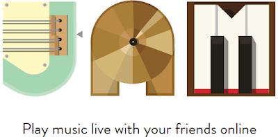 Google Jam, garage band experience on your Browser