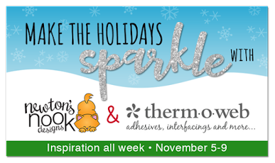 Newton's Nook Designs and Therm O Web Inspiration Week #newtonsnook #thermoweb