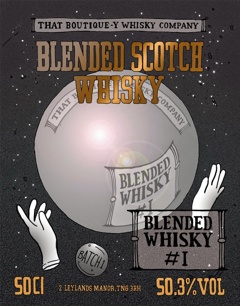 That Boutique-y Whisky Company Blended Whisky Batch 1