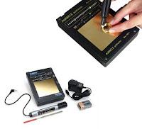 Testador eletrônico de ouro