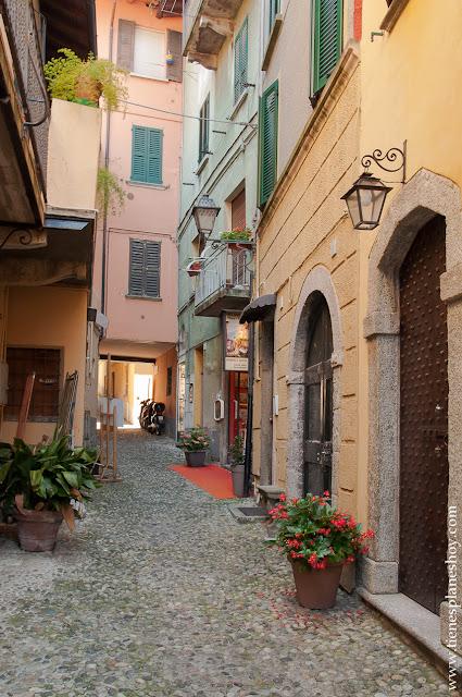 Calles Bellagio viaje Lago di COmo Italia