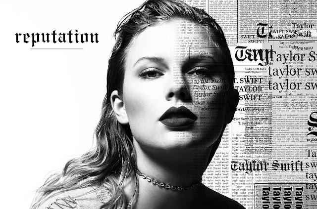 'Reputation': novo álbum Taylor Swift é o mais vendido de 2017
