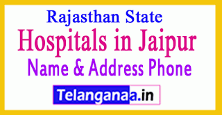 Hospitals in Jaipur Rajasthan