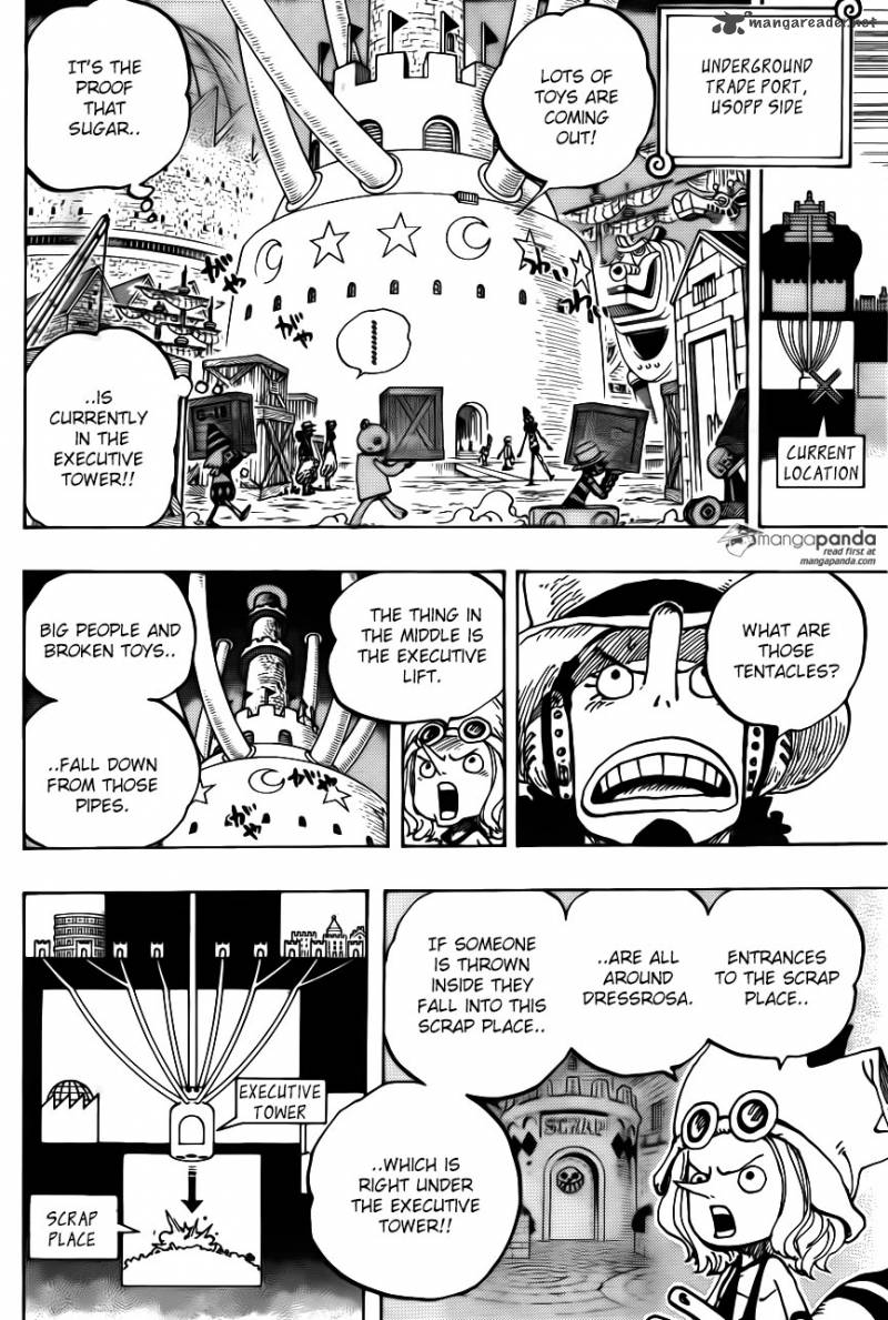 One Piece Ch.737: Executive Tower