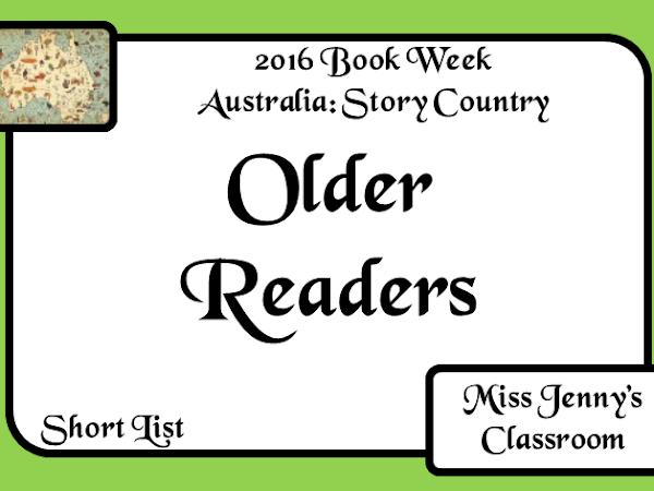Book Week 2016: Short List: Older Readers