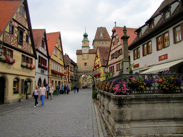 European bucket list, what's on yours?: The picturesque town of Rothenberg ob den Tauber