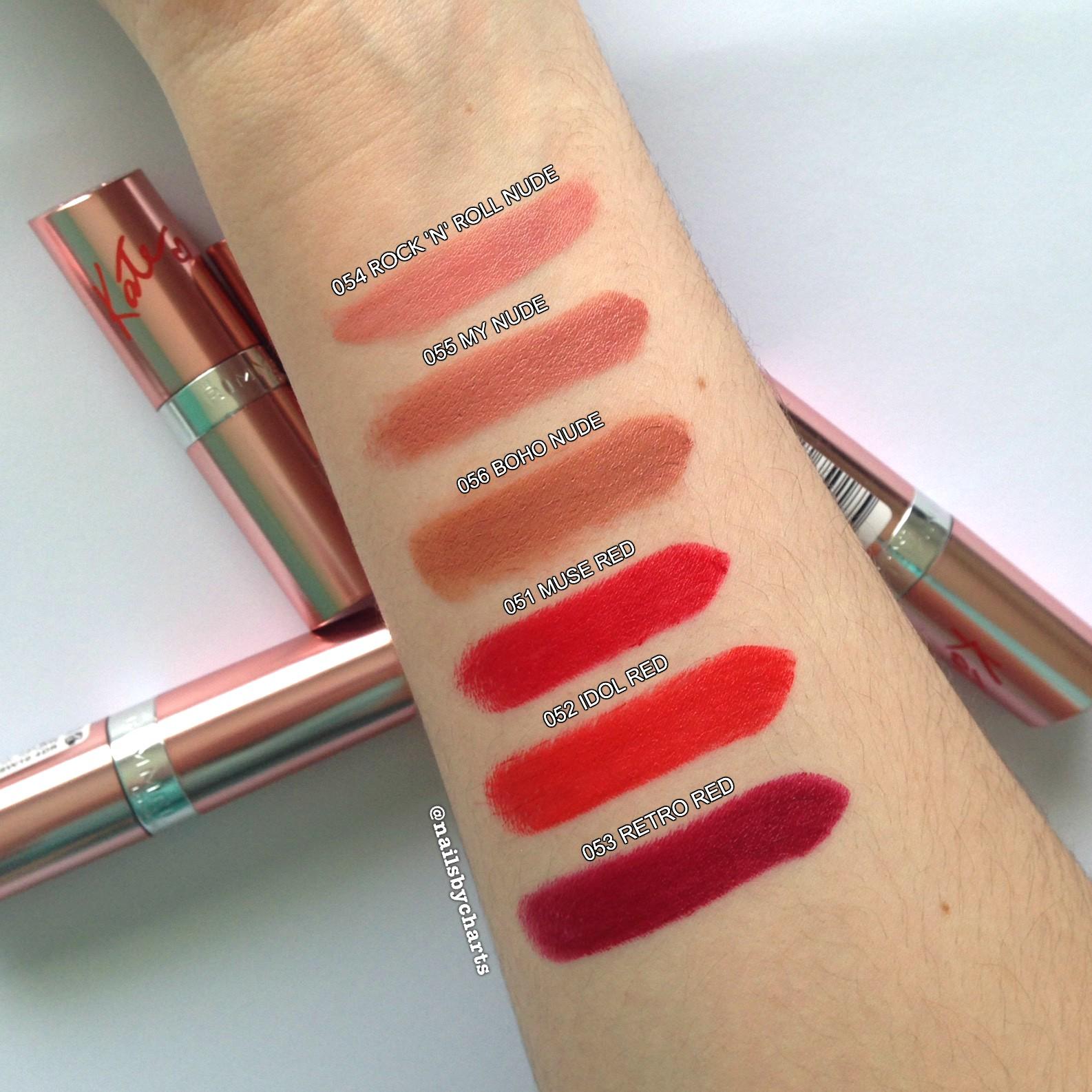 Rimmel London Kate Moss Lipstick 15 Year Anniversary - A