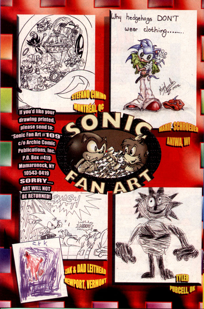Read online Sonic The Hedgehog comic -  Issue #109 - 16