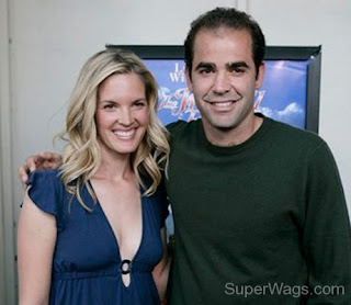 Pete and his wife, Bridgette.