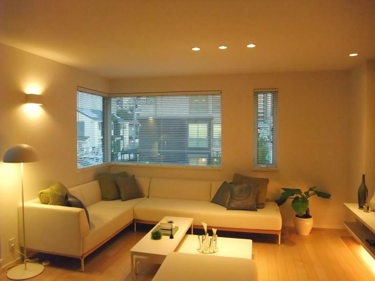 LED Spotlights in house