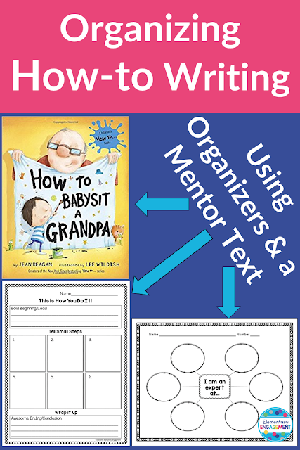 A Great Mentor Text and Free Organizers for How-to Writing