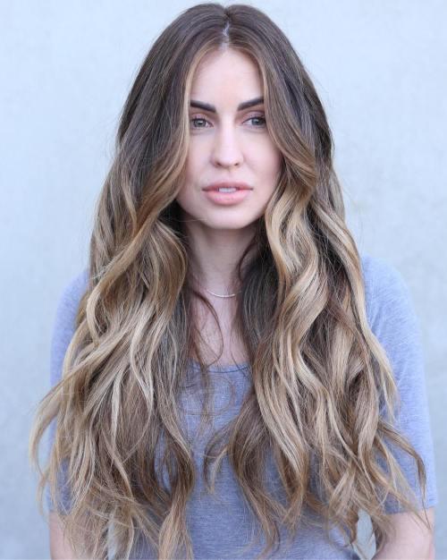 Frisuren Für Langes Dickes Haar Frisuren Trend 123