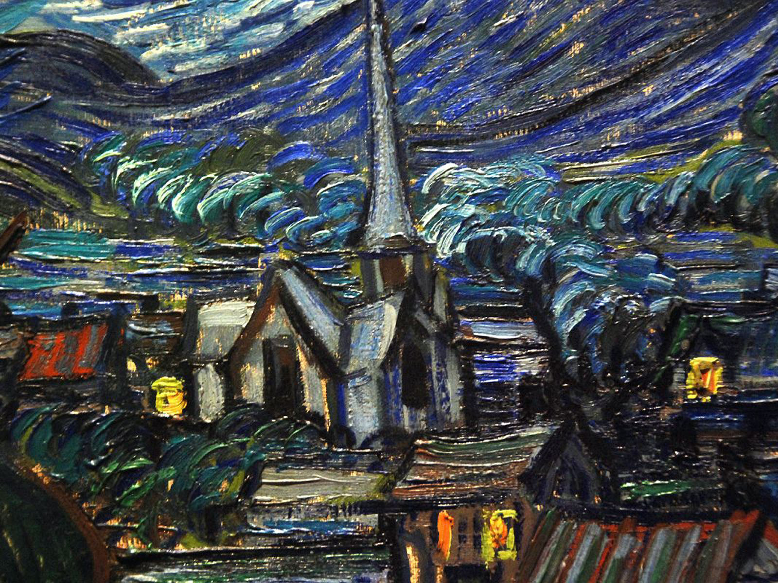 Chevy Las Vegas >> wallpapers: Van Goghs Starry Night