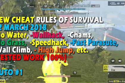 Cheat Rules of Survival Serin 8.0 Update 22 Maret 2018