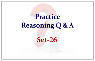 SBI PO Exam- Practice Reasoning Questions