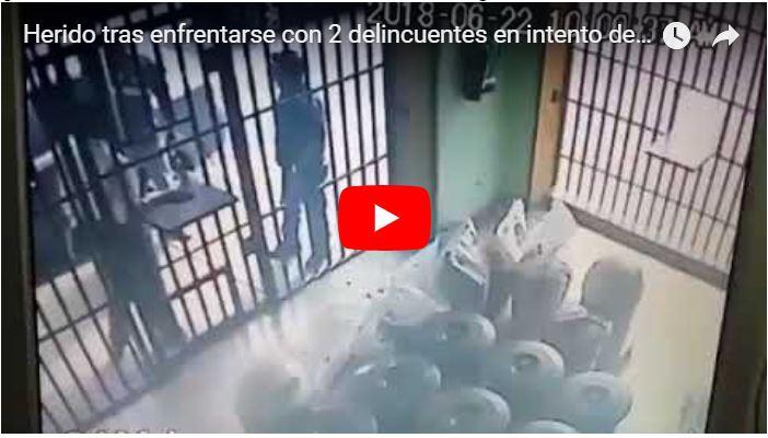 Herido tras enfrentarse con 2 delincuentes en intento de robo en el estado Lara
