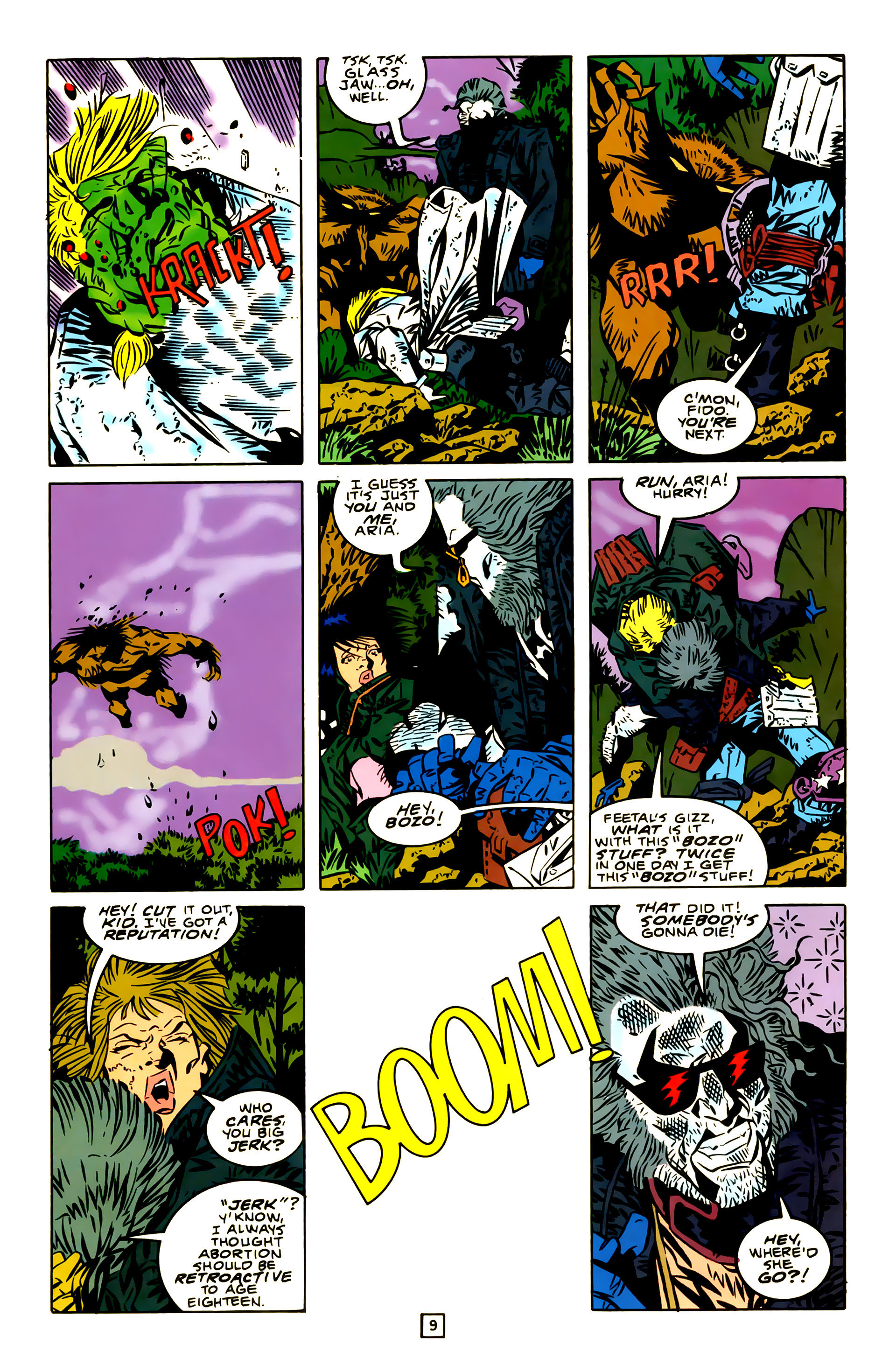 Legion of Super-Heroes (1989) 23 Page 9