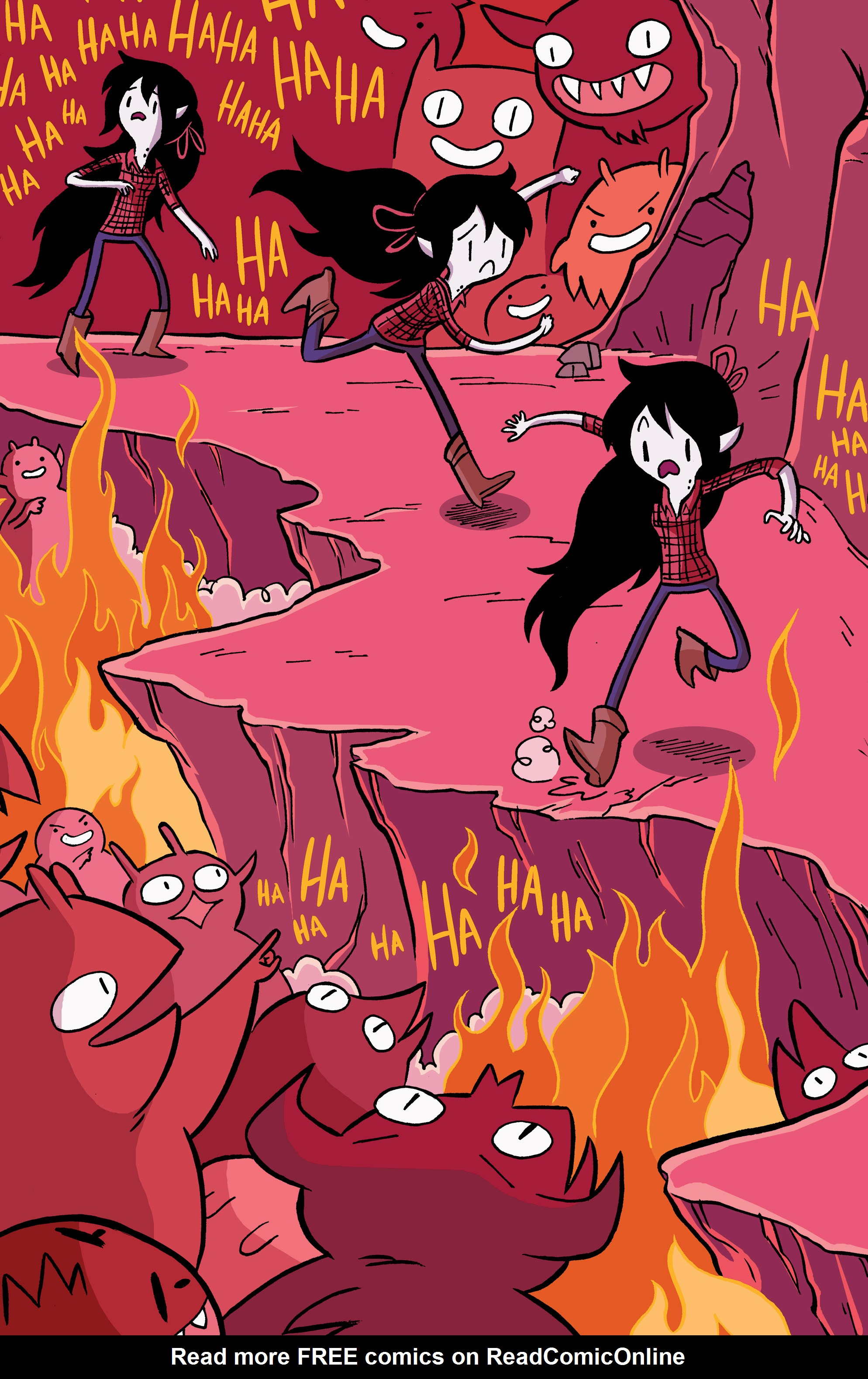 Read online Adventure Time: Marceline and the Scream Queens comic -  Issue #5 - 13
