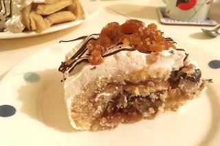 Vanilla and Chestnut Vegan Buche de Noel (Yule Log)