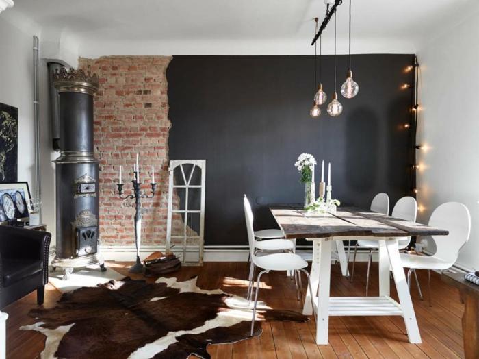 wall color black 56 examples of successful interior design diy fun world. Black Bedroom Furniture Sets. Home Design Ideas