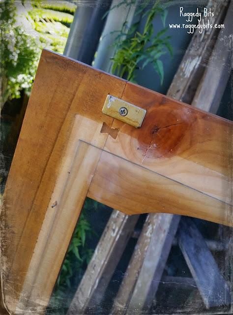 DIY Farmhouse Cupboard | www.raggedy-bits.com