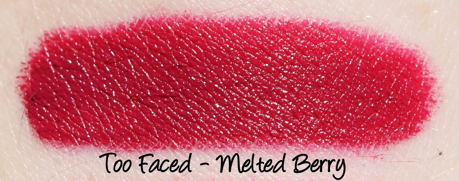 Too Faced Melted Berry Swatches & Review