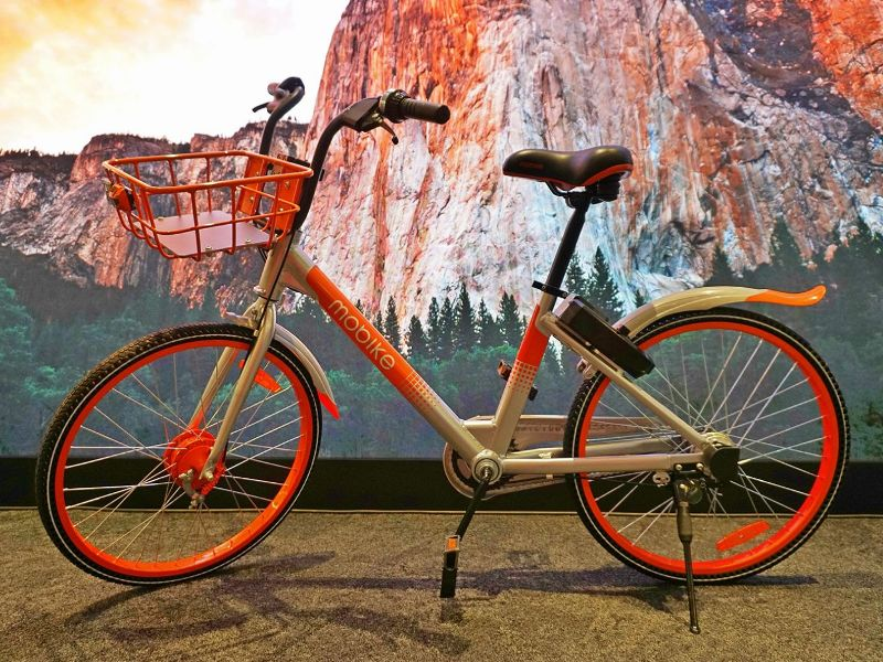 bicycle rental mobike new bike model