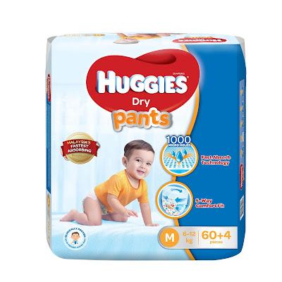 promosi huggies, huggies murah, lampin pakai buang terbaik, lampin pakai buang dipercayai, huggies terbaik, huggies cepat serap,