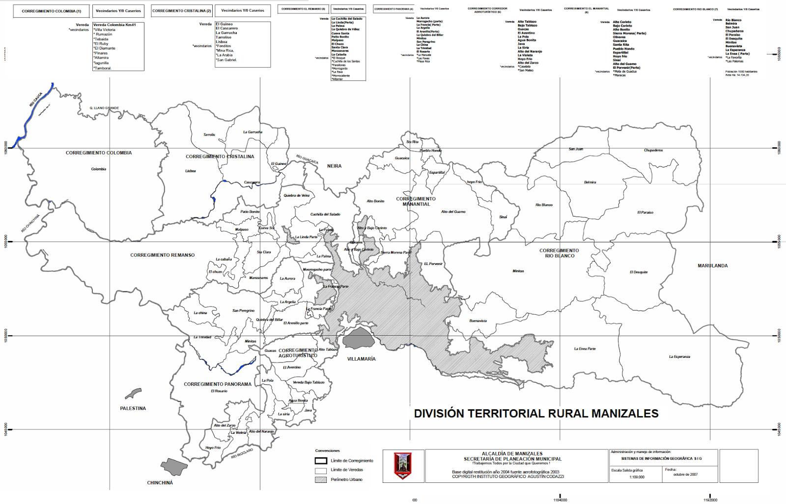 Gonzalo Duque-Escobar: Imágenes y mapas de Manizales