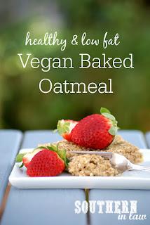The Best Vegan Baked Oatmeal Recipe Gluten Free