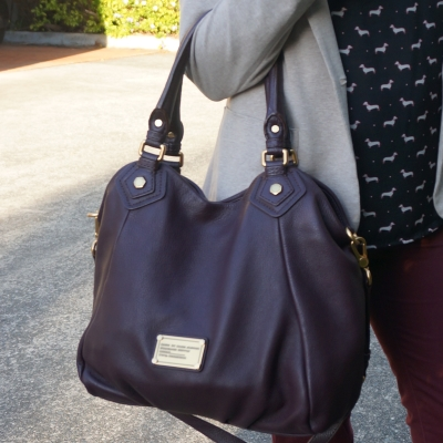 Away From Blue | Marc by Marc Jacobs Classic Q fran bag Carob brown