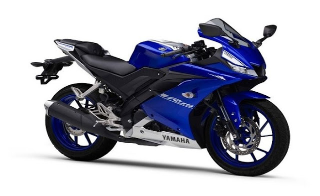 Yamaha YZF R15 V3 new 2018 side view