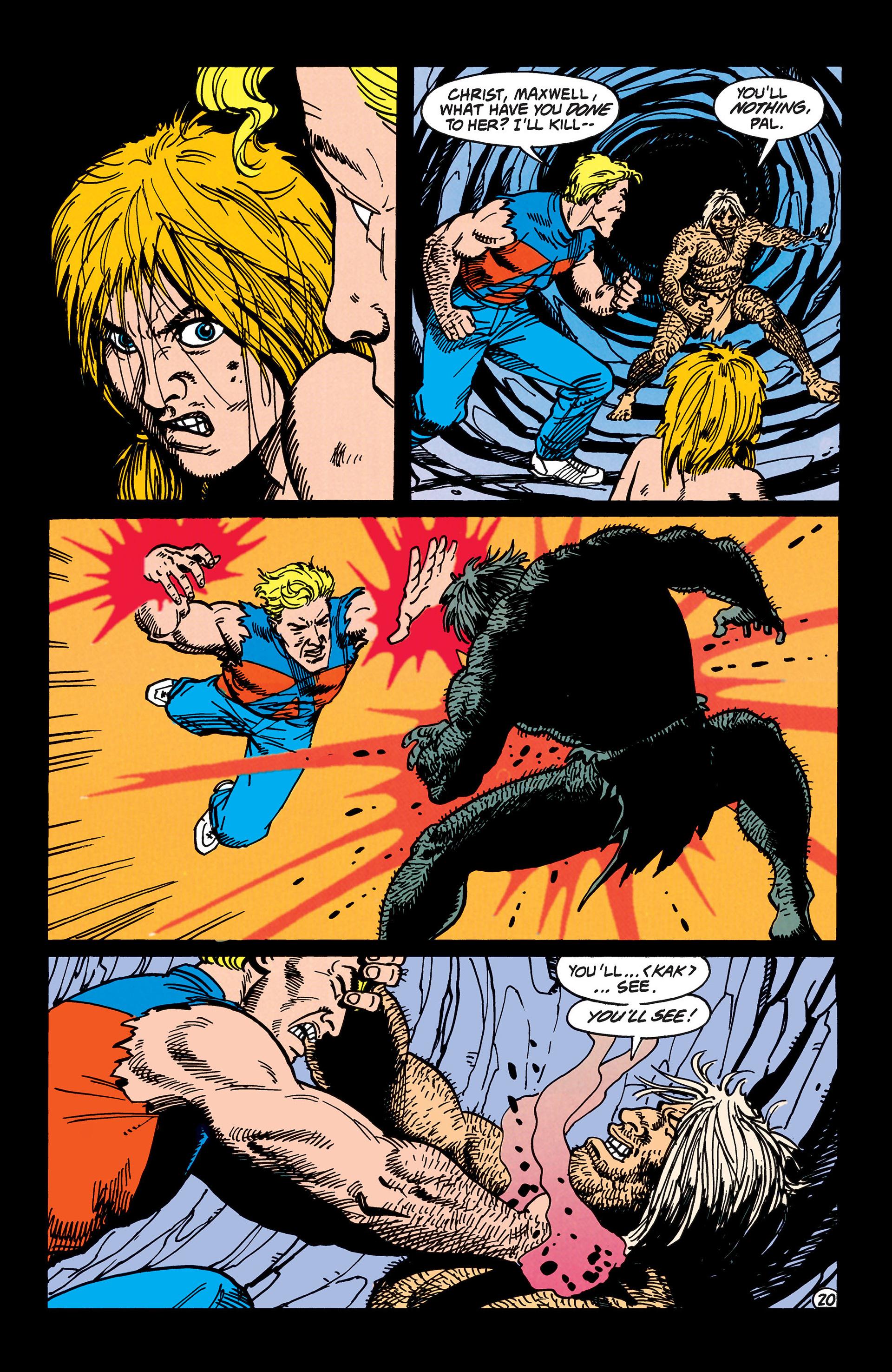 Read online Animal Man (1988) comic -  Issue #47 - 21