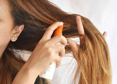 use sunblock for hair when going out in sun