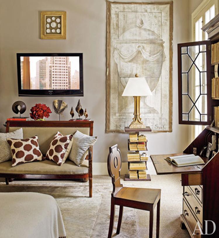Architectural Digest: The Secretary Desk - Mimosa Lane