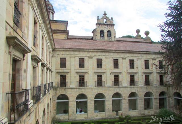 Claustro San Juan de Corias, ahora Parador
