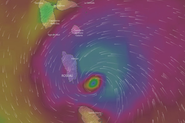 Huracán María pasará amenazando a Venezuela