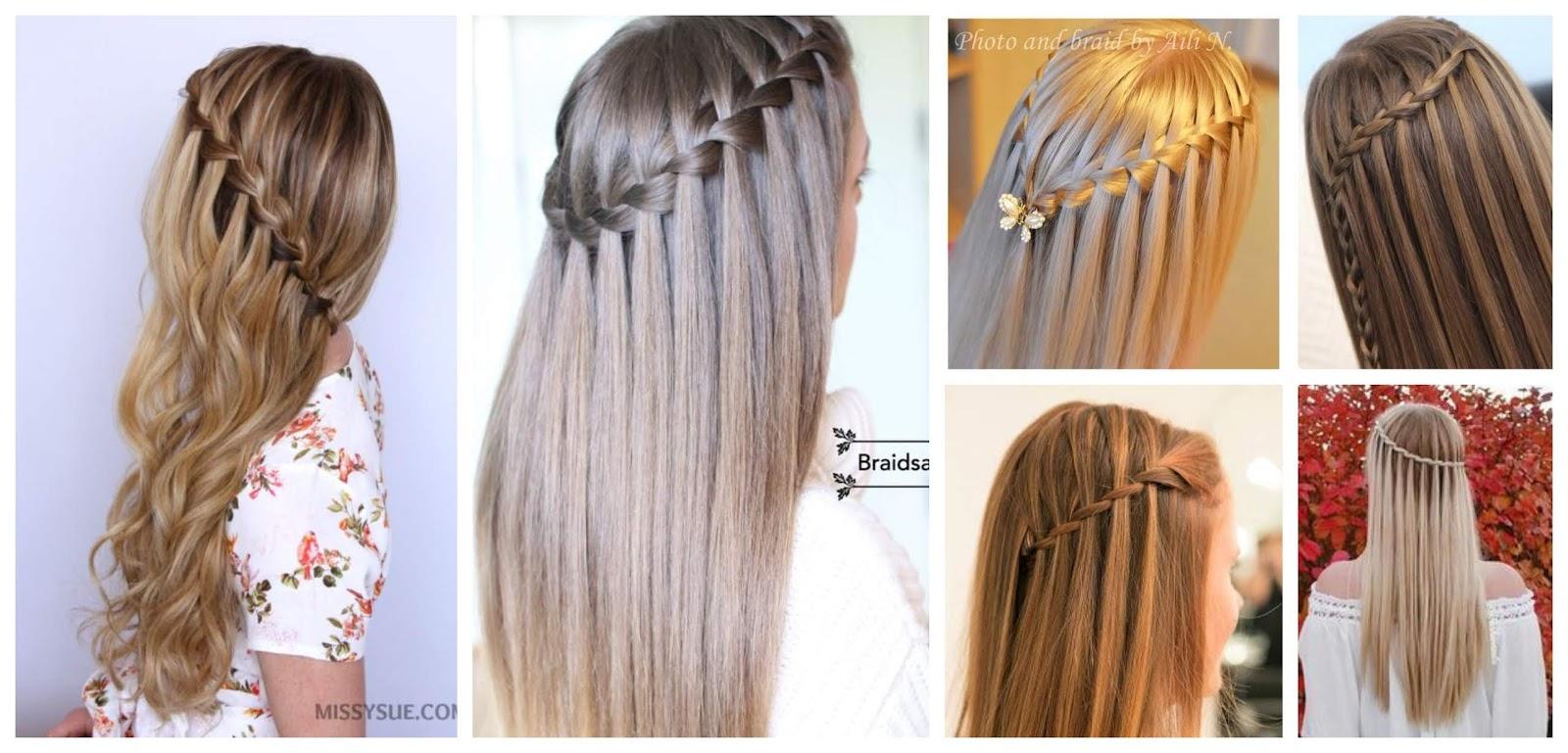Extremadamente atractivo como hacer peinados Galeria De Cortes De Pelo Tendencias - Aprende cómo hacer el peinado cascada con 5 Looks que te ...