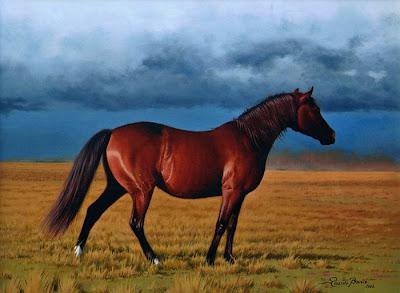 caballo pintura dibujo