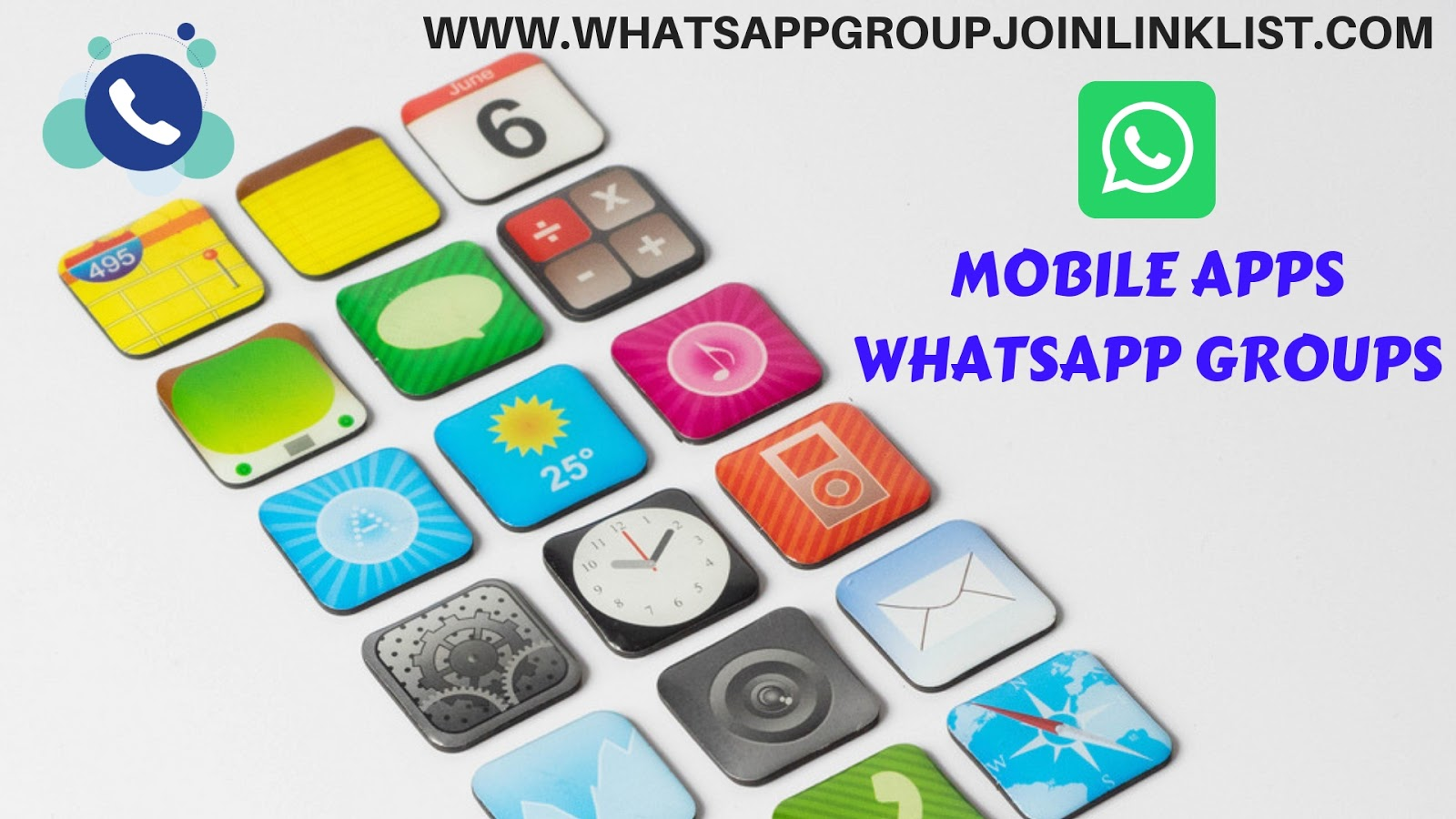 Mobile Apps WhatsApp Group Join Link List