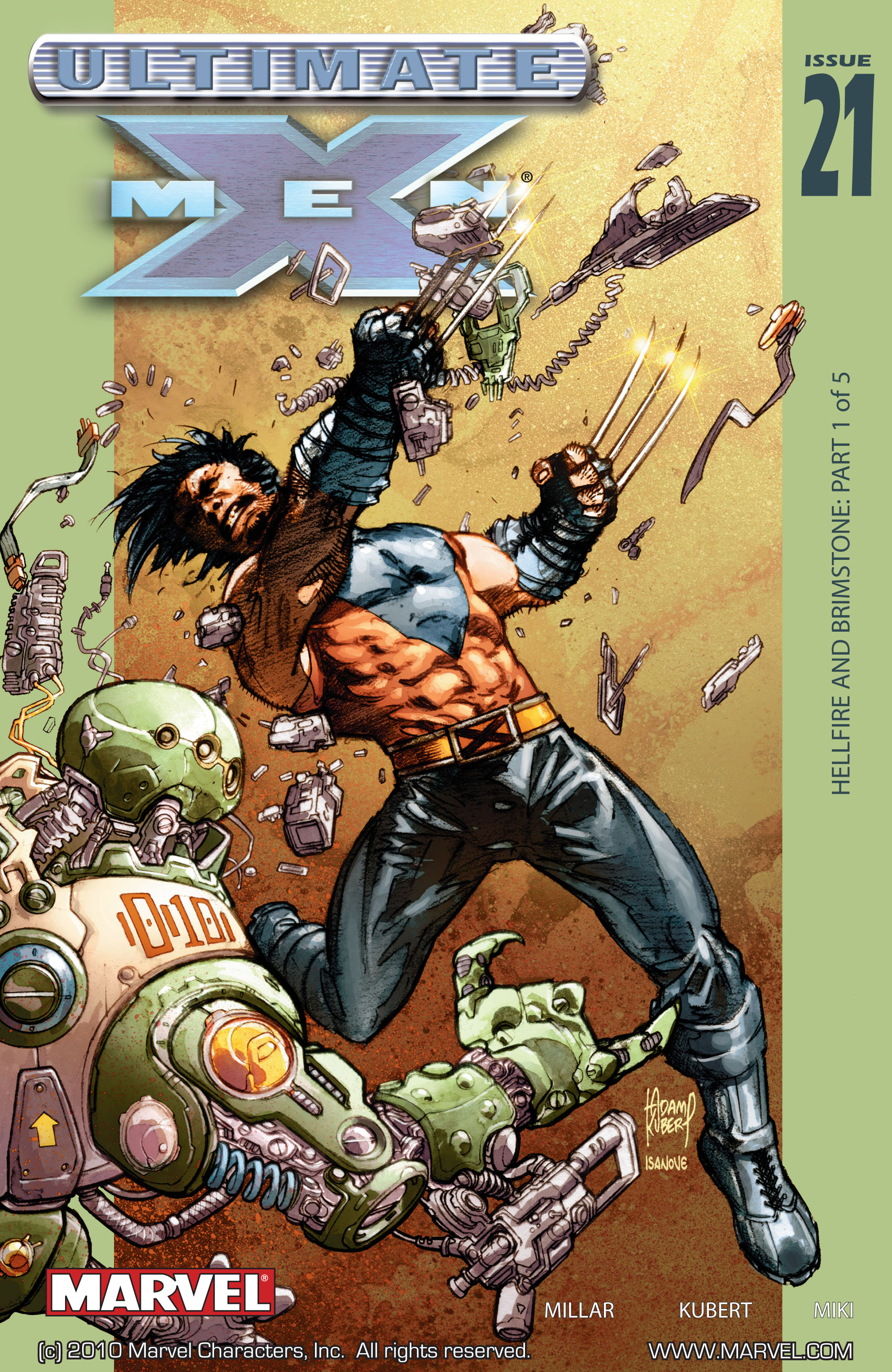 Read online Ultimate X-Men comic -  Issue #21 - 1