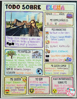 Señora Cruz: First Days of Spanish Class Part 1: Building