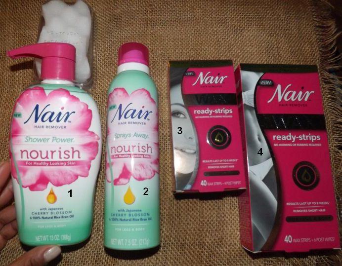 Nair Wax Ready-Strips