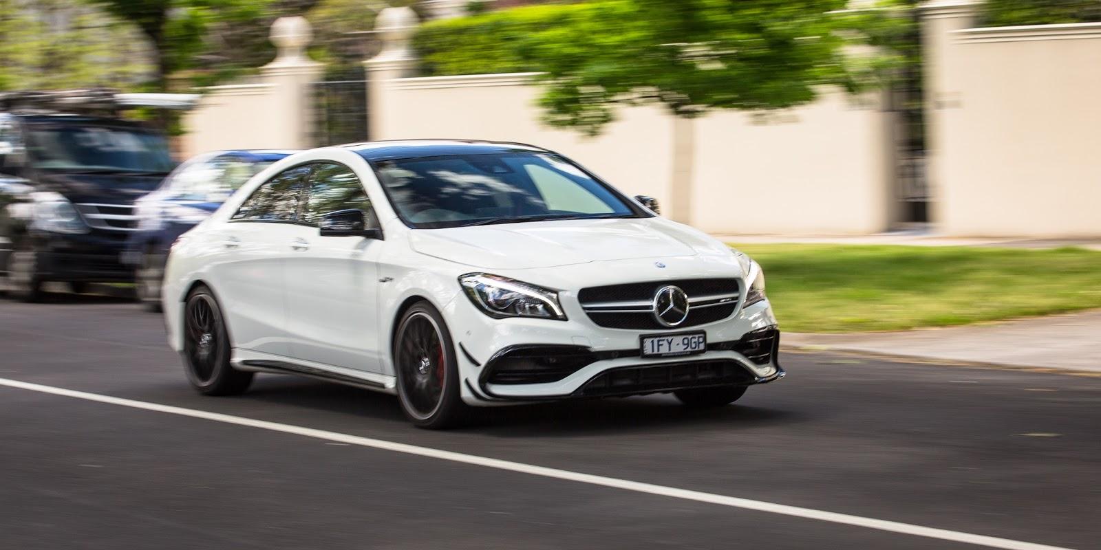 Trải nghiệm lái xe Mercedes-AMG CLA45 2017 chắc chắn rất tuyệt vời